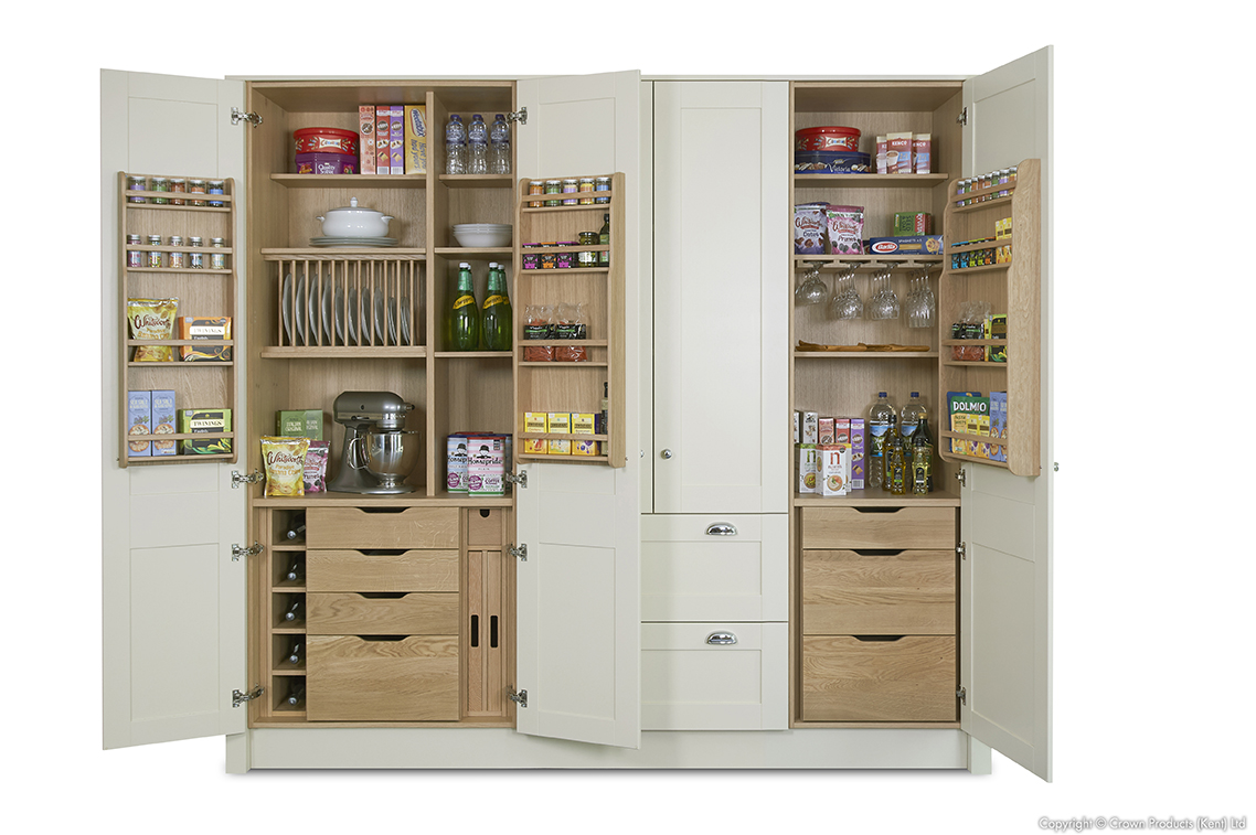 CROWN Midsomer HW Pantry 900 600 Open